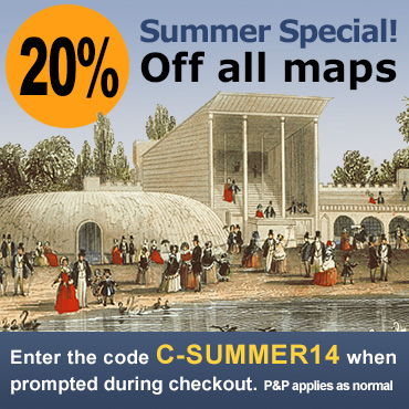 Cassini maps - Summer Offer - code: C-SUMMER14