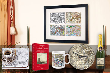 Personalised maps for gifts