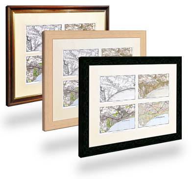 Cassini Maps Old Maps For Genealogy Local History Family - Frames for old maps