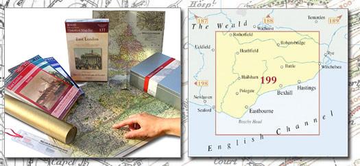 Eastbourne & Hastings HMG (1813-1921) - Cassini Maps